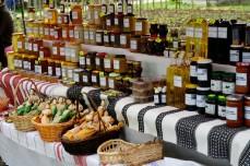 Natural honey and handmade jams